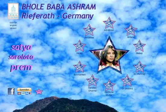 nieuwe Duitse Babaji website actief