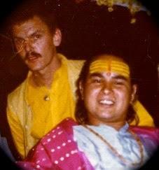 Raghuvir with Babaji